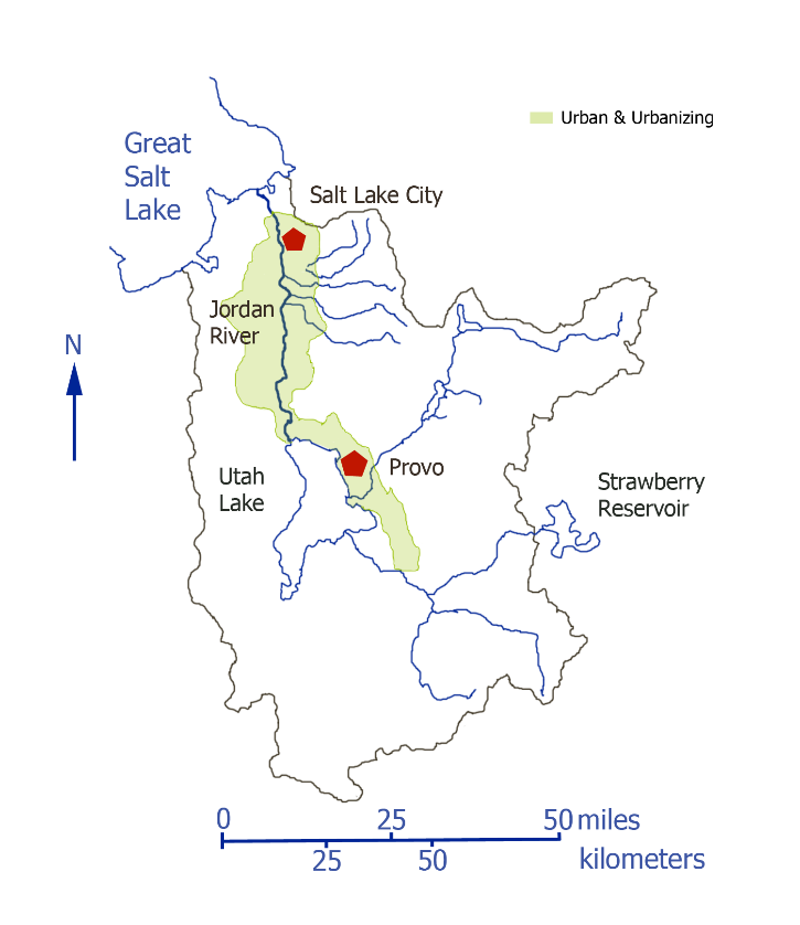 Figure 1. Study Watershed