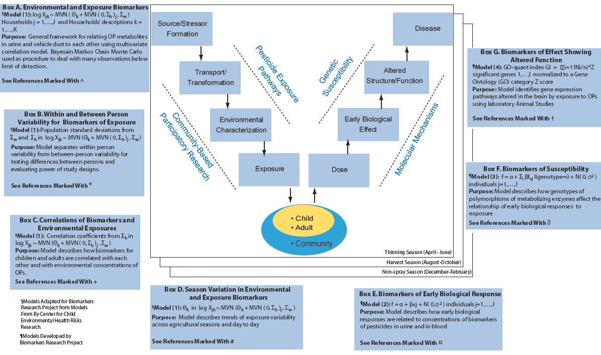Wsu environmental health safety environmental health - Integrative Tool Containing Models We Developed In Boxes A G Organized Around The Public Health Paradigm V Diagram