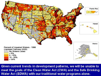 Growth And Water Resources Watershed Academy Web US EPA - Us waters map